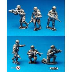 Infantry in combat