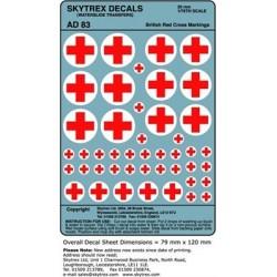 AD83 British Red Cross Markings