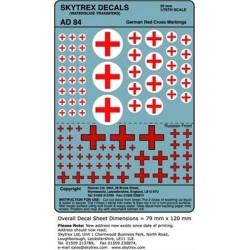 AD84 German Red Cross Markings
