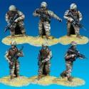 Infantry in close combat