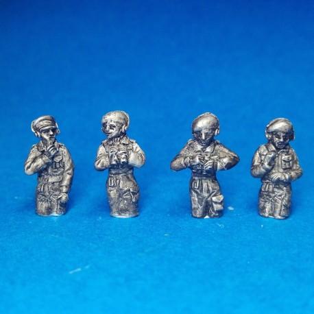 British tank commanders