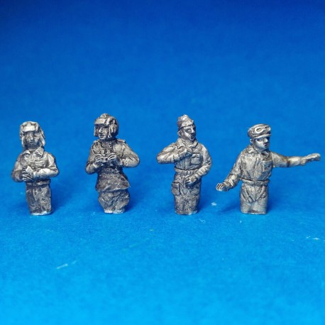 Soviet tank commanders