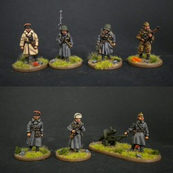 Infantería soviética marchando set2