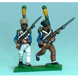 Grenadiers / Voltigeurs Advancing