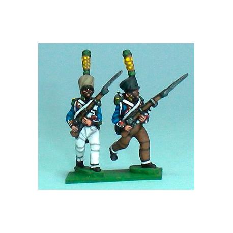 Grenadiers / Voltigeurs Avanzando