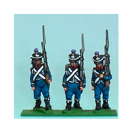 Chasseurs marching