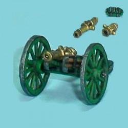 Canon calibers 4, 12 & howitzer