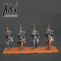British rifles avanzando