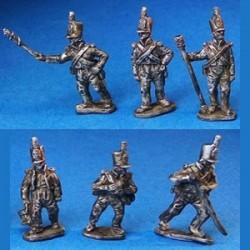 British Walking Artillerymen