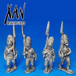 Spanish Grenadiers marching