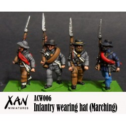 Infantería Marchando con sombrero A