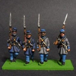 Infantry in Levite and Kepi