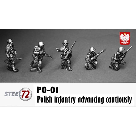 Polish Infantry advancing cautiously