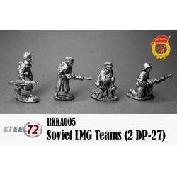 Soviet LMG Teams