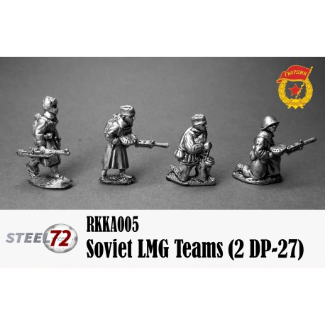 Equipos de LMG soviética