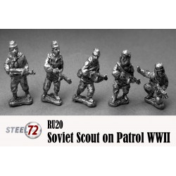 Soviet Scouts On Patrol