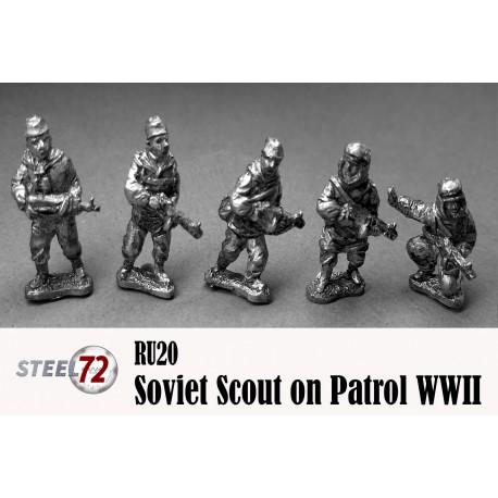 Soviet Scouts On Patrol