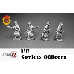 Oficiales Sovieticos