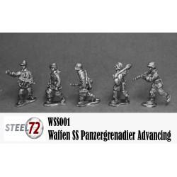 Panzergrenadier Waffen SS avanzando.