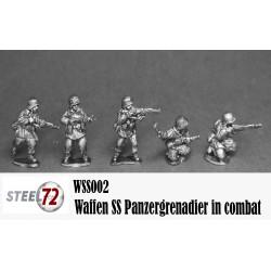Panzergrenadier Waffen SS en espera