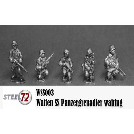 Panzergrenadier Waffen SS waiting